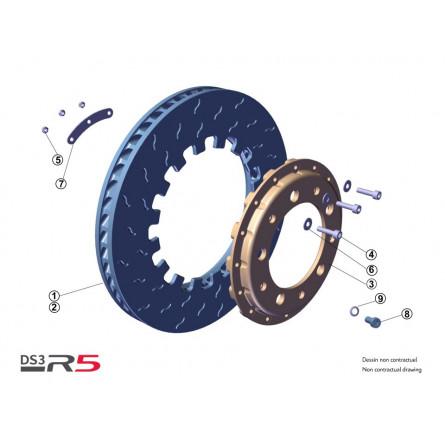 F11 Tarmac front brake discs