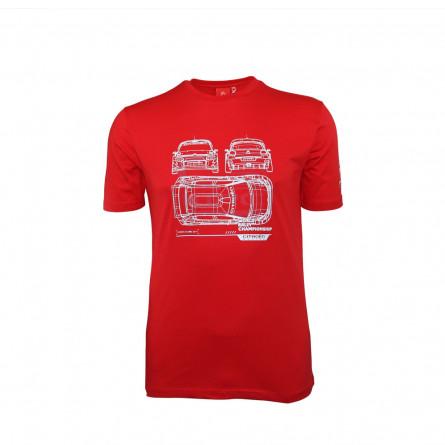 Men C3 WRC T-shirt - 2019