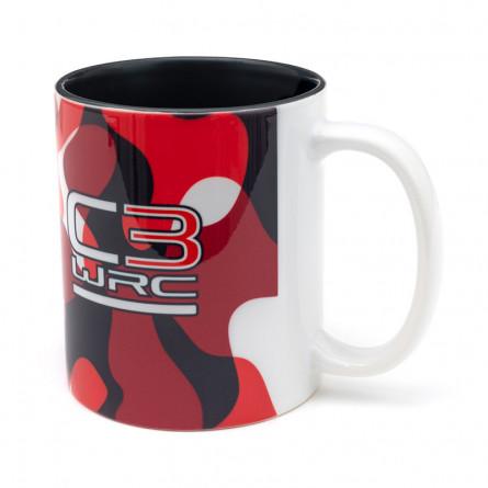 C3 WRC camo mug