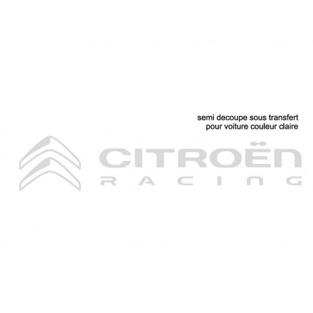 LOGO CITROEN RACING CLAIR
