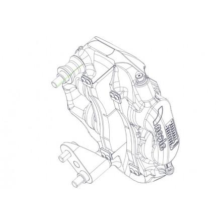 F41 Rear Caliper Tarmac