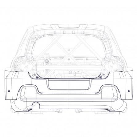 R1B Rear Bumper