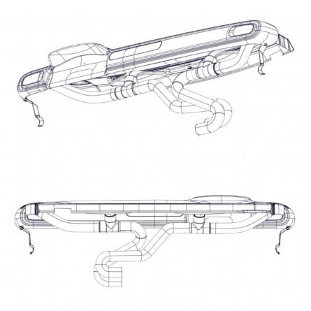S1A Ensemble Planche de bord