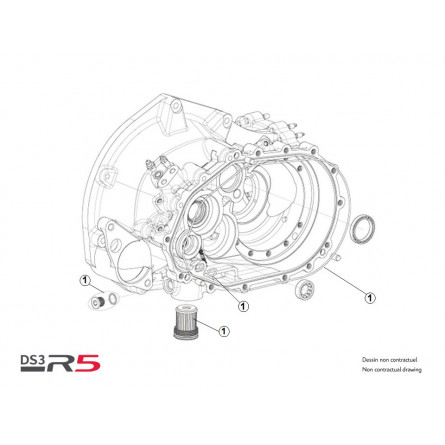Rear differential Service Kit