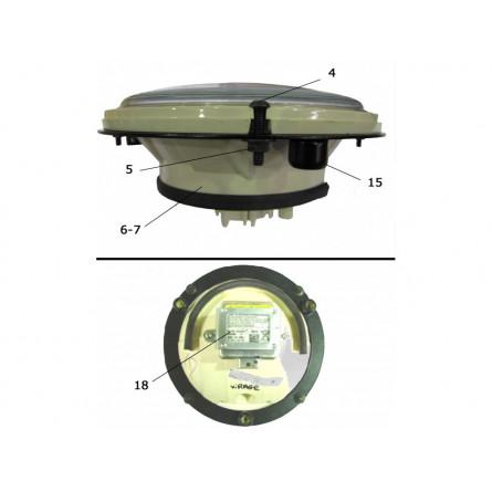 Lamp pod