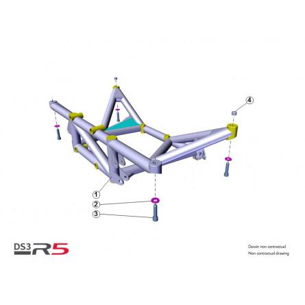 E21 Rear subframe
