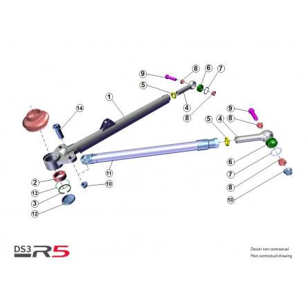 E22 Rear Arm