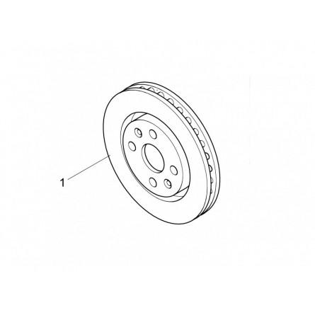 F11 Front Brake Discs (Gravel)