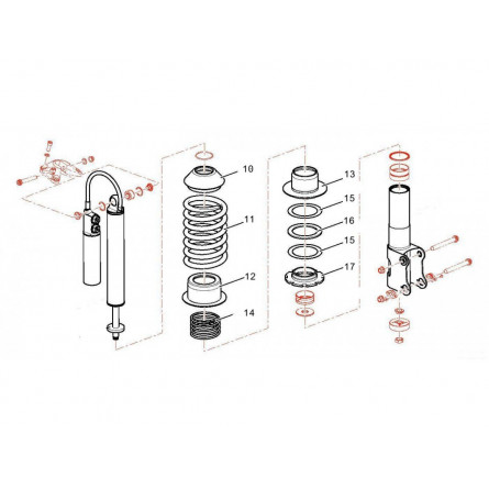 E14 suspension AV