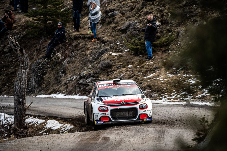 5 on 5 for Citroën C3 R5 and its customers at 2020 Rally Monte-Carlo
