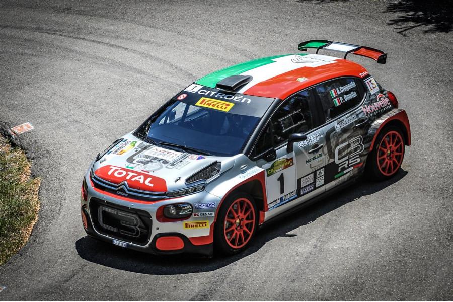 Andrea Crugnola wins Rally Del Casentino 2020 with Citroën C3 R5