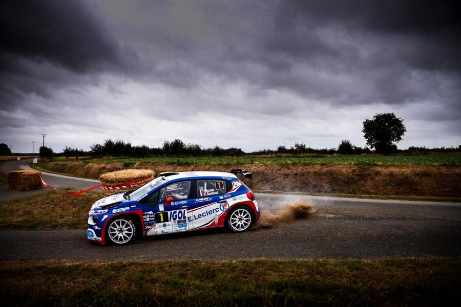 Large domination des Citroën C3 Rally2 au Rallye Cœur de France, Yoann Bonato vainqueur