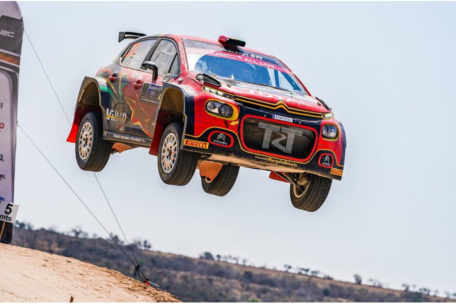 Marco Bulacia brilliantly wins WRC-3 at Rally Mexico 2020