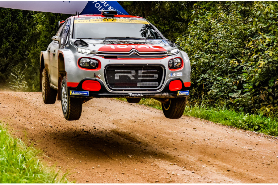 Ostberg wins WRC-2 at Rally Estonia with Citroën C3 Rally2