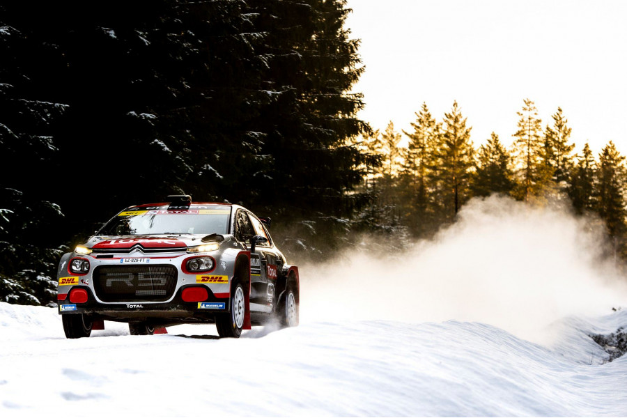 Mads Ostberg doubles up in Sweden - WRC-2