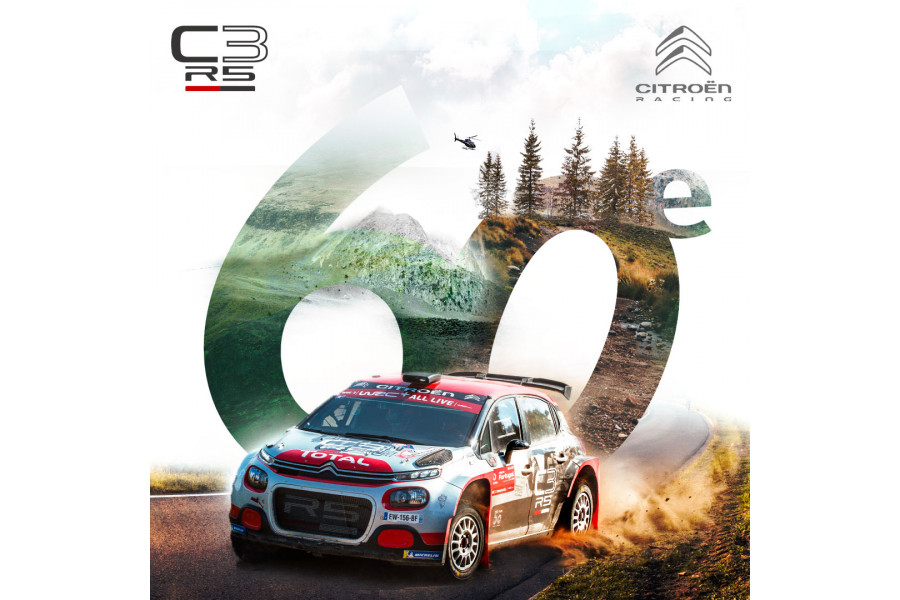 Delivery of the 60th Citroën C3 Rally2