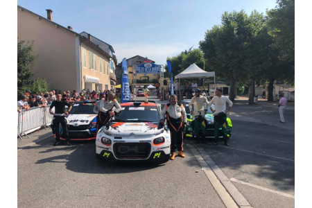 1 victory and 2 podiums for C3 R5 in France