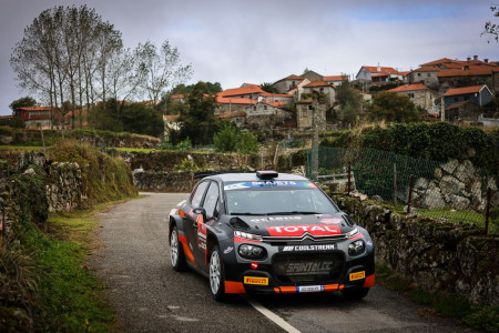 Citroën C3 1-2 in ERC : Lukyanuk winner and Bonato runner-up at Fafe